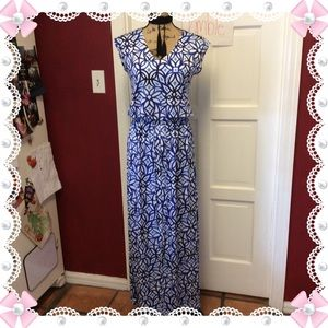 💜pretty Chico's Maxi Dress 💜